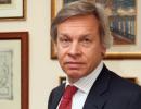 Пушков: У Киева не политика, а шизофрения