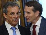 На крючке у Нарышкина: Мариани пролоббирует во Франции российские интересы