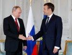 Макрон показал заинтересованность Франции в России