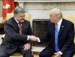 Американский фотошоп: за встречу с Трампом Порошенко заплатил полмиллиона