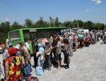 Укрокаратели устроили провокацию при запуске полученных от РФ автобусов