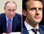 Макрон и Путин встретятся в Версале 29 мая