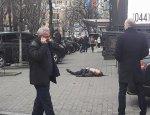 Очевидцы засняли первые секунды после убийства экс-депутата Вороненкова